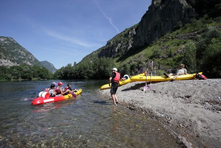 Location de canoe ariege