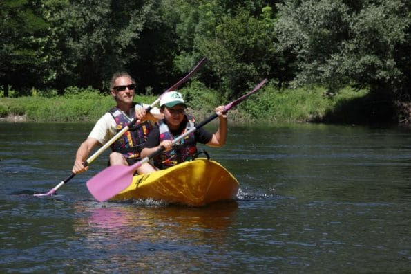 Canoe famille Ariege