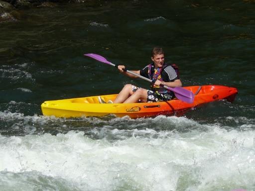 Kayak sur l'Ariège