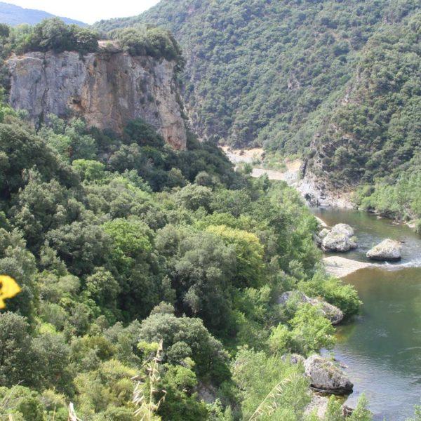 Vieussan en canoë Gorges de l'Orb Hérault 34