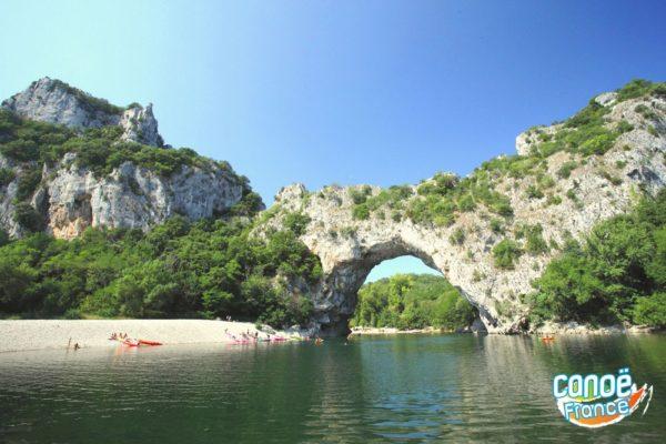 Ardèche Pont-d'arc Canoe kayak