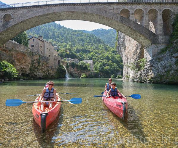 Descente du Tarn en canoe kayak