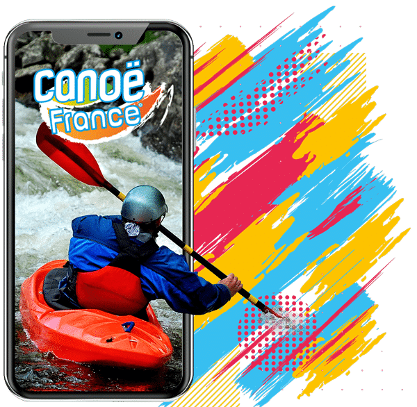 Appli mobile Canoë France