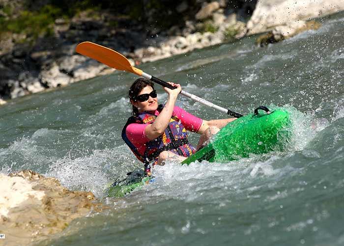 Kayak sur la Drôme à Saillans 26