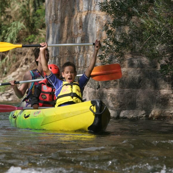 Canoe sur l'Orb Roquebrun Hérault 34