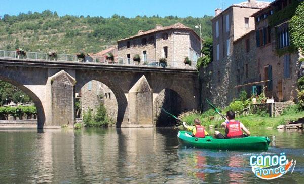 Canoe sur l'aveyron à st antonin