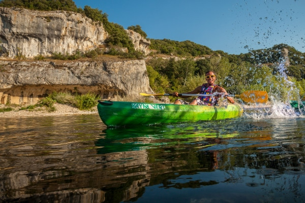 Location kayak Collias Pont du gard