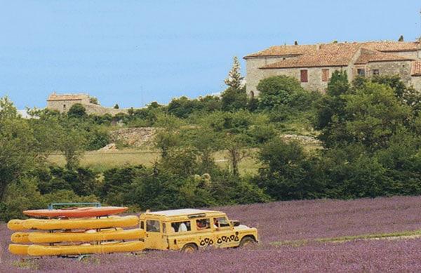 Transport de canoë sur la Cèze