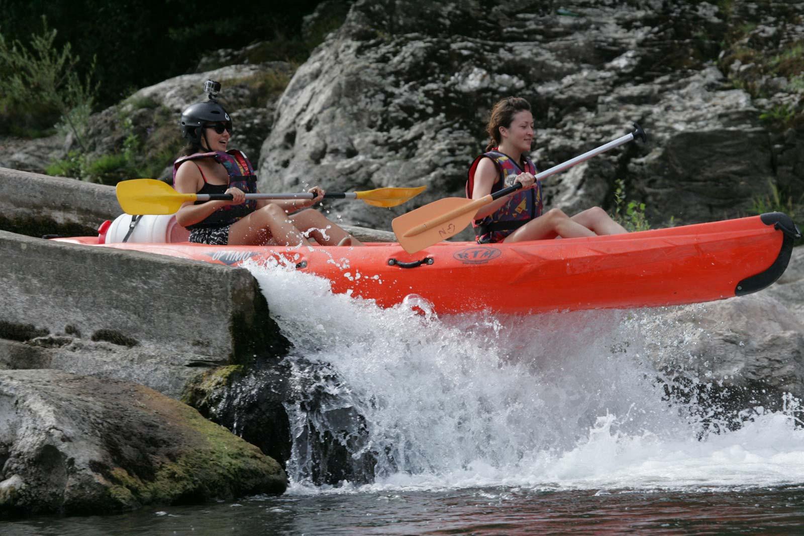 Descente canoe-kayak de Colombières à Roquebrun sur l'Orb