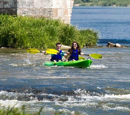 Découverte canoe kayak sur la loire