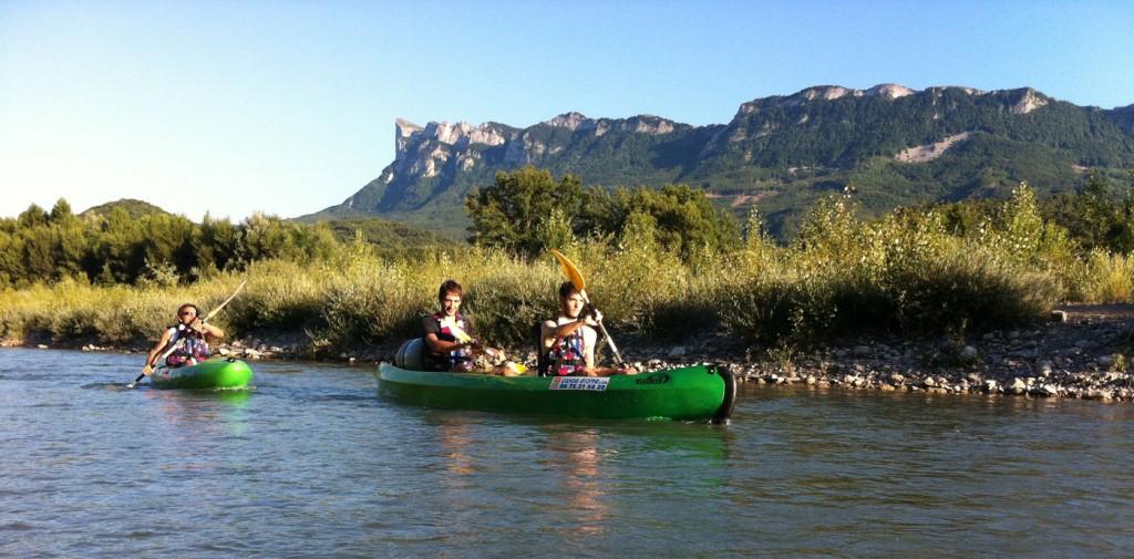 Location canoe kayak sur la drome 26