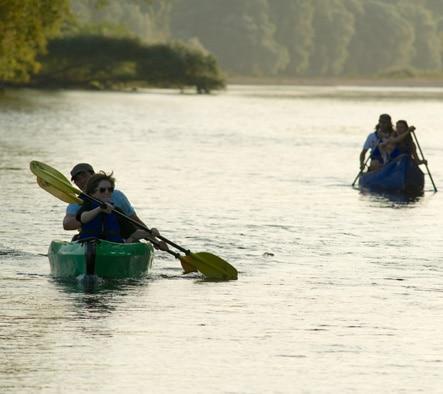 Location de canoe sur la Loire, à Blois