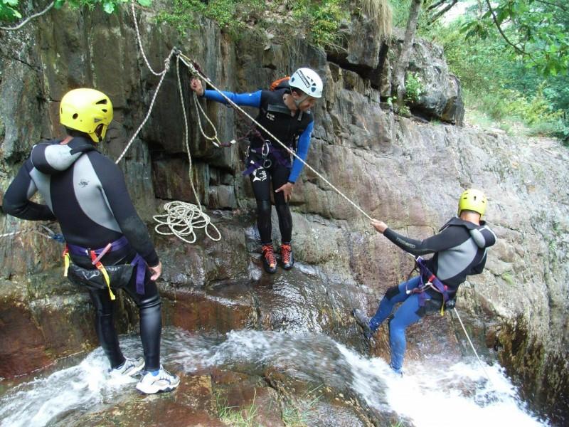 En canyon avec Ariège Evasion 09